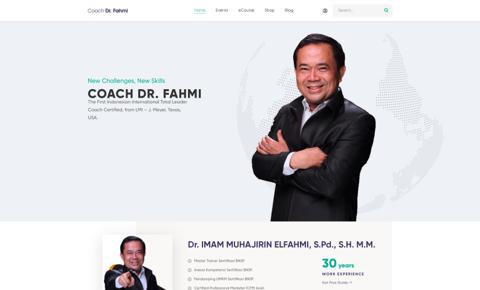 Coach Dr. Fahmi
