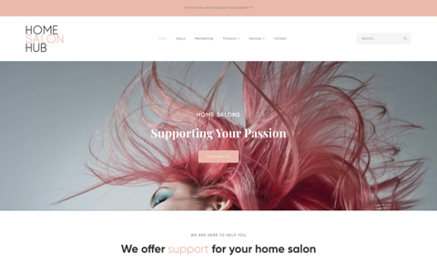 Home Salon Hub